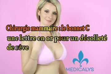 Chirurgie mammaire : le bonnet C, une lettre en or pour un décolleté de rêve